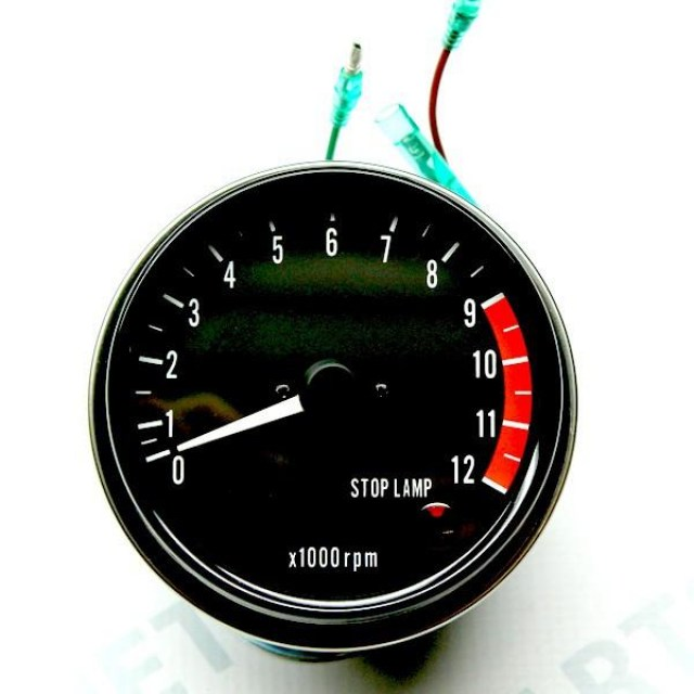 Late_Model_Z1_Tachometer_Assembly_With_Stop_Lamp